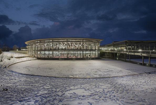 Bibliothek Regensburg Winter