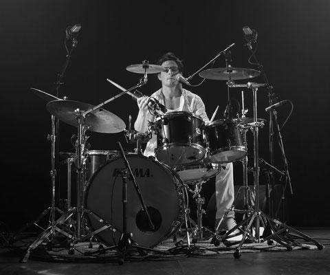 Lucas Mège © Photo Bruno Dupuis - Cité de la Musique le 10 juin 2015