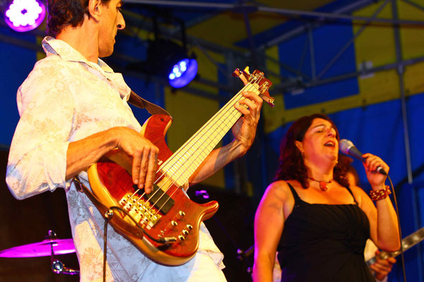 Lula Maria & Quando © Photo : Mario Lopes Ferreira - Le Cheylard le 31 juillet 2015
