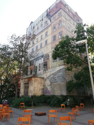Der Hochbunker in der Rohrlachstraße (Bildrechte: MBO)