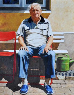 MY NEIGHBOR CHARLIE // 70x90 cm // oil on canvas