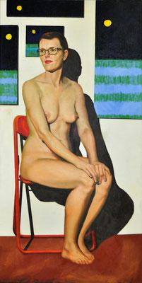 KATE – KINDERGÄRTNERIN // 50x100 cm // oil on canvas
