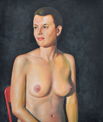 KATE // 50x60 cm // oil on canvas