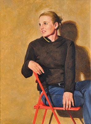 LENA // 50x70 cm // oil on canvas