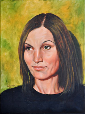 HATICE // 30x40 cm // oil on canvas