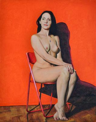 NATASCHA // 80x100 cm // oil on canvas
