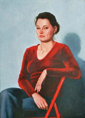 PATRICIA // 50x70 cm // oil on canvas