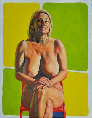 HEIDE // 70x90 cm // oil on canvas