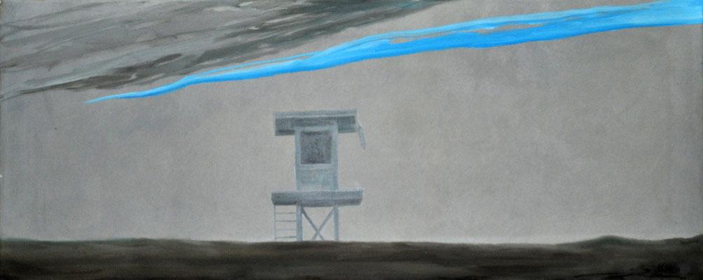 SEAL BEACH // 105x40 cm // oil on canvas