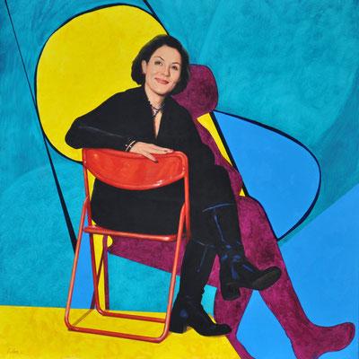 BIANCA MEIER // 100x100 cm // oil on canvas