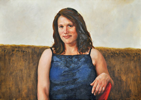 MONI // 70x50 cm // oil on canvas