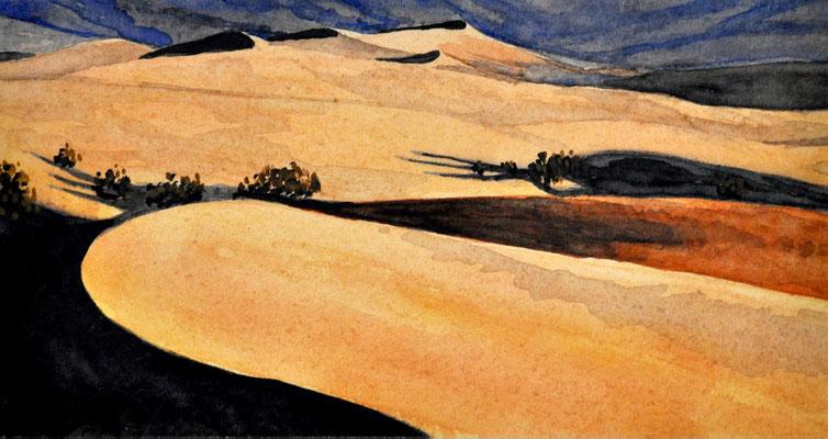 AMERICAN DESERT // 23,5x12 cm // watercolor