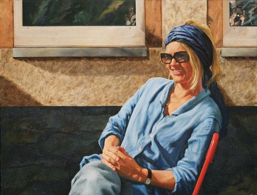 GITTI // 80x60 cm // oil on canvas