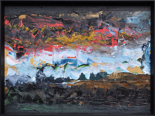 ABSTRACT // 24x18 cm // oil on canvas