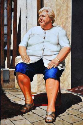 MY NEIGHBOR'S WIFE // 80x120 cm // oil on canvas