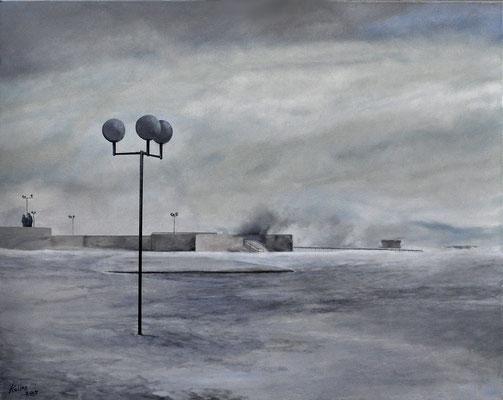 LINDAU ON BODENSEE // 100x80 cm // oil on canvas