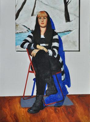 TAMARA // 60x80 cm // oil on canvas