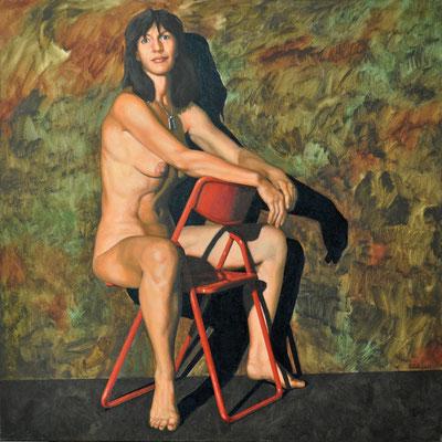 PETRA // 100x100 cm // oil on canvas