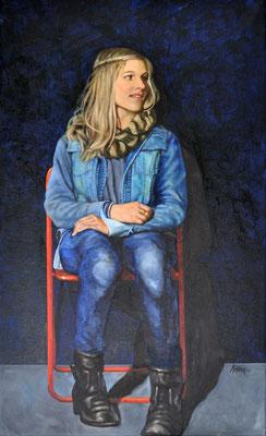 SOPHIE // 50x80 cm // oil on canvas