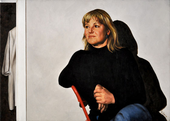 BETINA // 70x50 cm // oil on canvas