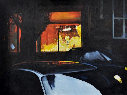 THE BAKERY LOTHRINGER STR. // 80x60 cm // oil on canvas