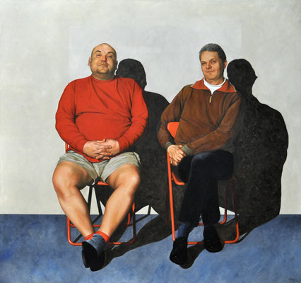 FALK & TOMMY // 160x150 cm // oil on canvas