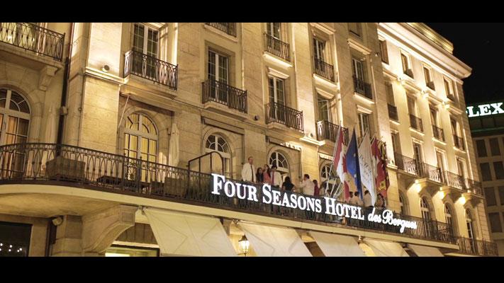 Photographe videaste mariage Four Seasons Hotel des Bergues Geneve