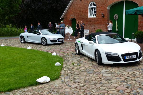 Fahrzeuge zur Hochzeit