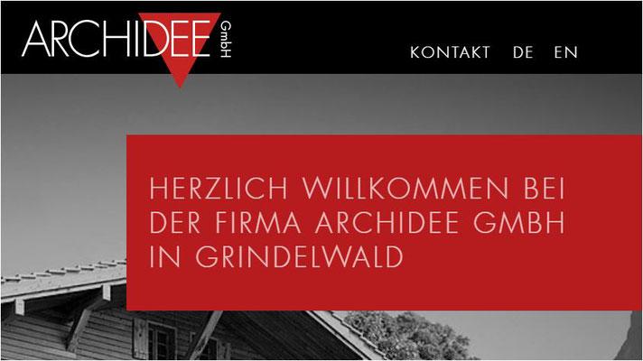 Immobilien Berner Oberland Bewertungen Archidee auf Google und Anfahrt