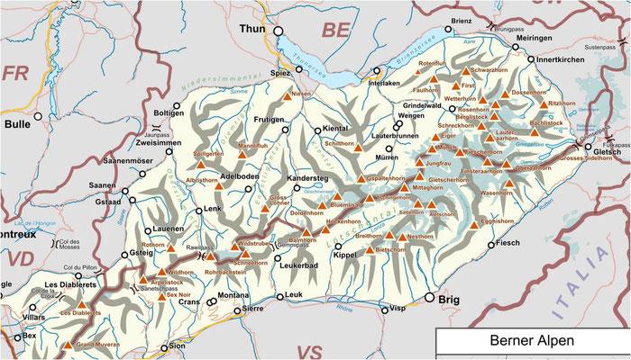 Immobilien Berner Oberland - die Top Skiorte Grindelwald Wengen Mürren in der Jungfrau Region