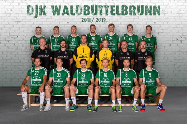 Mannschaftsfoto DJK Waldbüttelbrunn Bayernliga