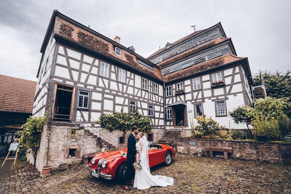 Hochzeitsfotos Papierscheune Homburg
