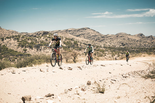 Desert Dash -  Mountainbike Rennen in Namibia