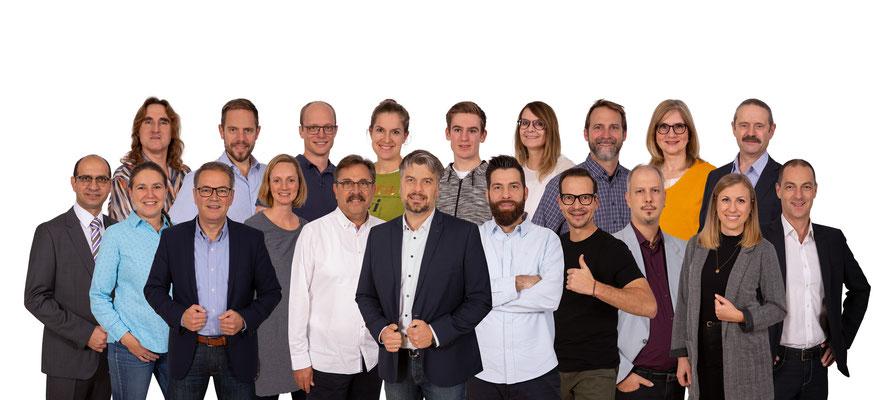 Wahlkampf-Fotos 2019/2020: UWG Höchberg