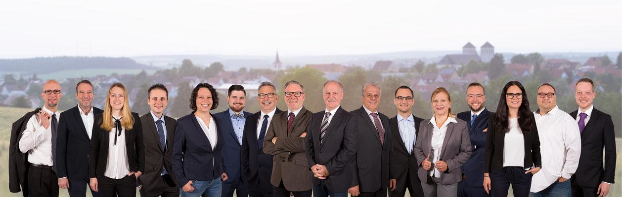 Wahlkampf-Fotos: CSU Waldbütellbrunn