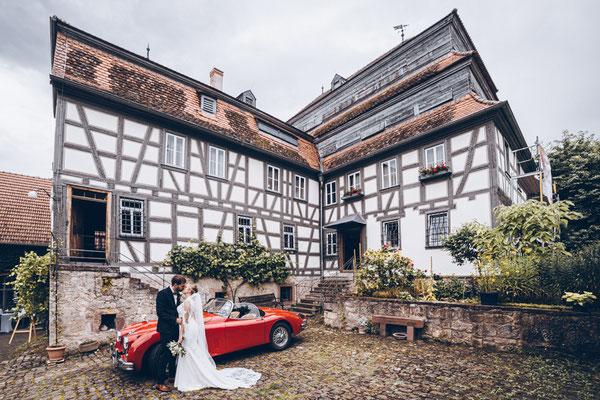 Hochzeitsfoto Papierscheune Homburg