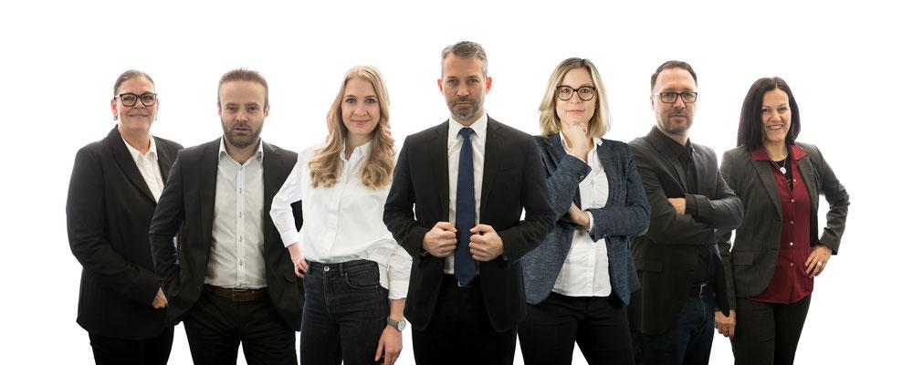 Business-Portraits Würzburg für die Versicherungskammer Bayern