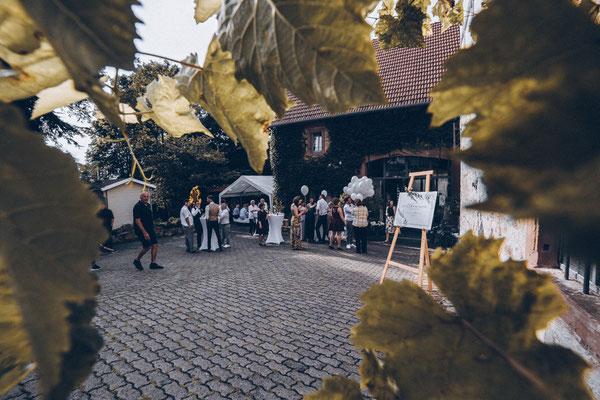 Hochzeitslocation Papierscheune Homburg bei Würzburg