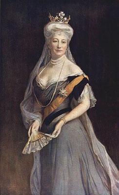 Auguste Viktoria von Schleswig-Holstein-Sonderburg-Augustenburg (1858-1921), Ehefrau von Kaiser Wilhelm II., letzte Deutsche Kaiserin und Königin von Preußen