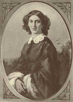 Johanna von Puttkamer (1824-1894), Ehefrau von Otto von Bismarck