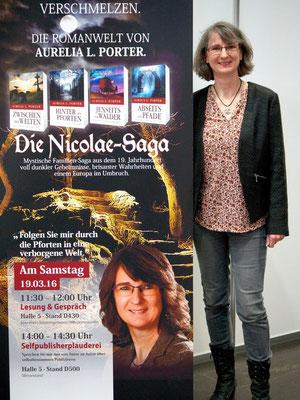 Die Nicolae-Saga auf der Leipziger Buchmesse 2016