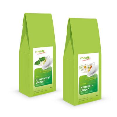 Verpackungskonzept Tee