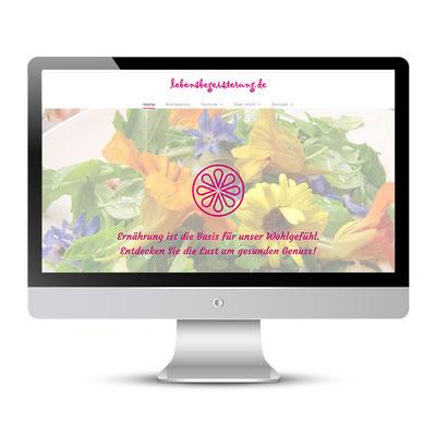 Website für Elke Bräuninger, Bioköchin ausÜberzeugung und mit Leidenschaft