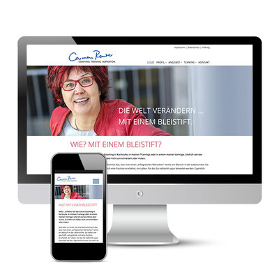 Website Carmen Reuter - Coaching. Training. Inspiration. - www.carmenreuter.de