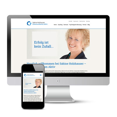 Website für Kommunikation Aktiv - Coaching, psychologische Beratung - www.kommunikation-aktiv.de (CMS Wordpress)