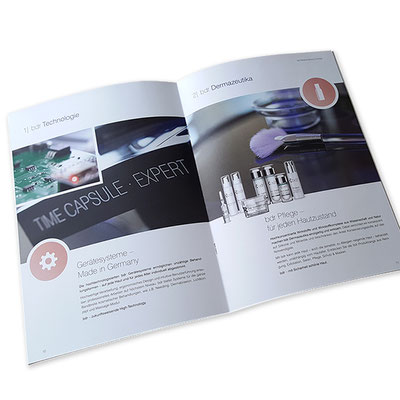 Imagebroschüre Kosmetikmarke