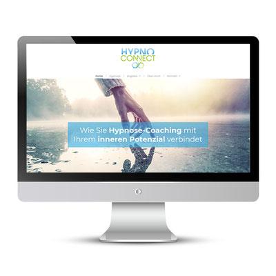 Website für Maic N. Büchner, Hypnosecoach