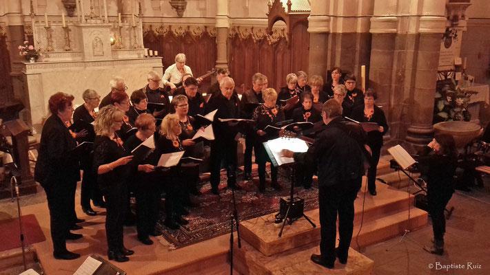 Voix Lactées - Concert d'Olby - Puy de Dôme Eglise St Pierre le 23 mars 2018