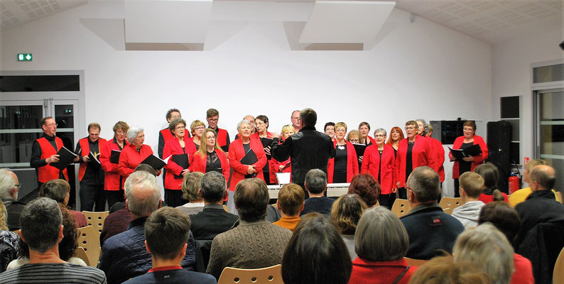 Chorale Volcalise - Concert de Prompsat - 24/11/2018