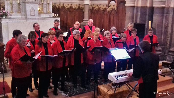 Volcalise - Concert d'Olby - Puy de Dôme Eglise St Pierre le 23 mars 2018